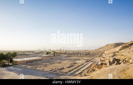 view on Persepolis heritage by Shiraz in iran - Stock Photo