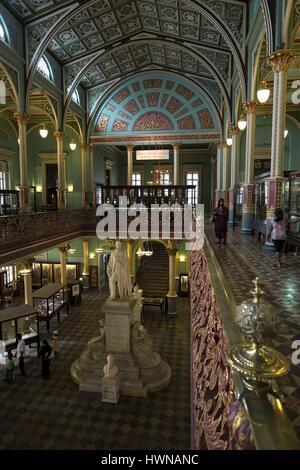 India, Maharashtra State, Mumbai or Bombay, Dr. Bhau Daji Lad Mumbai City Museum, - Stock Photo