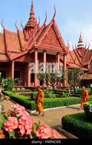 Cambodia, Phnom Penh, National Museum of Fine Arts - Stock Photo