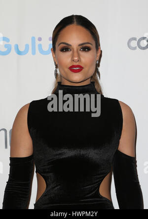BEVERLY HILLS, CA - March 21: Pia Toscano, at Generosity.org Fundraiser for World Water Day at Montage Hotel in - Stock Photo