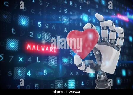 Virus background against black background 3d - Stock Photo