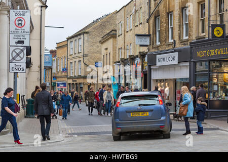 Cirencester - at Cirencester, Gloucestershire in March - Stock Photo