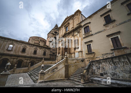 Church of Saint Francis of Assisi (Immaculate Conception) and Monastery of Holy Saviour (Monastero del San Salvatore) - Stock Photo