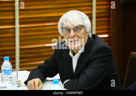 Sao Paulo, Brazil. 23rd March, 2017. Mayor John Doria receives in his office on the afternoon of Thursday (23), - Stock Photo