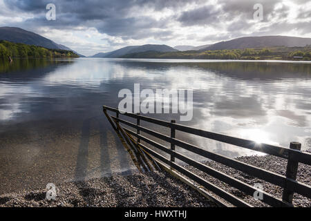 Loch Lochy, Caledonian Canal, Highlands, Scotland, UK. - Stock Photo