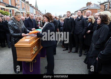 Why Is The Irish Flag Placed On A Coffin