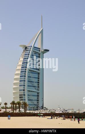 Burj al arab in dubai uae stock photo royalty free image for Burj al arab 7 star hotel