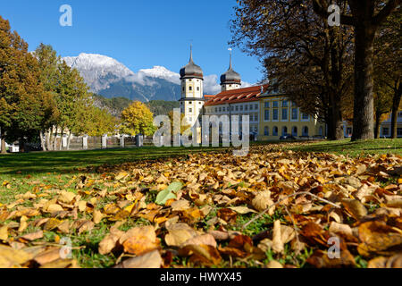 Austria, Tyrol, Stams Abbey - Stock Photo