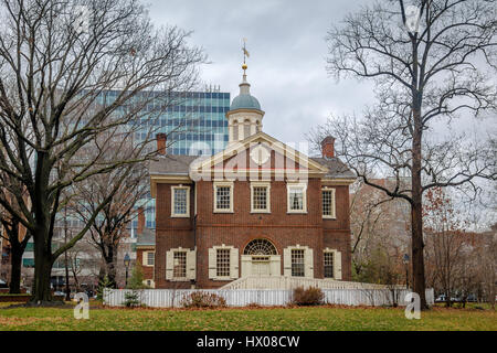 Carpenters Hall - Philadelphia, Pennsylvania, USA - Stock Photo