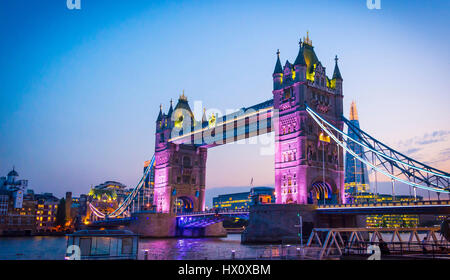 Tower Bridge London - Stock Photo