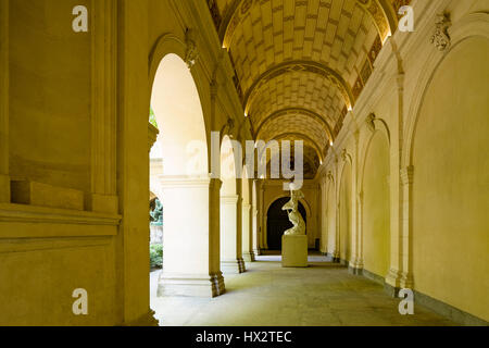 Lyon (south-eastern France): Fine Arts Museum - Stock Photo