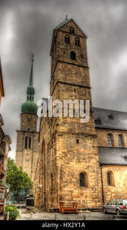 Marienkirche (St. Mary's Church) in Dortmund, Germany - Stock Photo