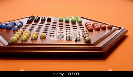 Chinese Checkers - Stock Photo