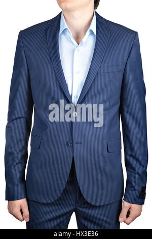 Navy blue suit for men, a wedding or prom, vest, shirt, tie plastron ...