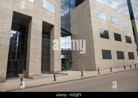 Skycraper architectural glass building - Stock Photo