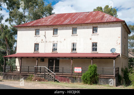 Hume Highway road trip, Australia: Old Mill by the Murrumbidgee at Gundagai, NSW - Stock Photo