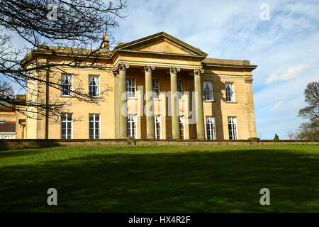 The mansion house Roundhay park Leeds Yorkshire England - Stock Photo