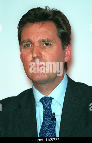 ALAN MILBURN MP SECRETARY OF STATE TO HEALTH 24 September 2000 BRIGHTON LABOUR PARTY CONFERENCE 2000 - Stock Photo