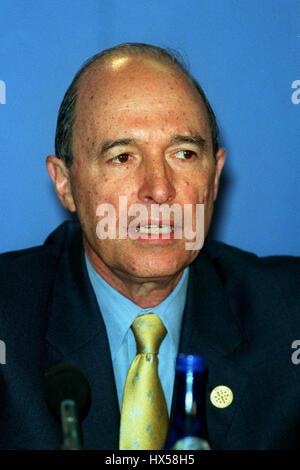 COSTAS SIMITIS PRIME MINISTER OF GREECE 13 July 1998 - Stock Photo