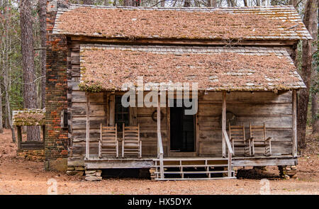 Pioneer Log Cabin at Callaway Gardens in Pine Mountain Georgia