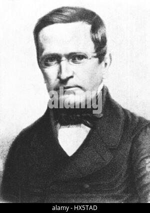 Manteuffel, Otto Theodor von (1805 1882) - Stock Photo