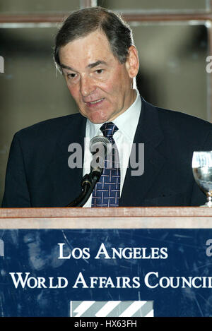 SIR JEREMY GREENSTOCK BRITISH AMBASSADOR TO THE U.N. 18 June 2002 BILTMORE HOTEL DOWNTOWN LOS ANGELES USA - Stock Photo