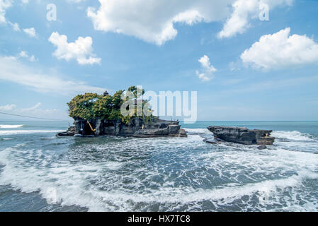 Tanah Lot Temple Pura Tanah Lot in Bali - Stock Photo