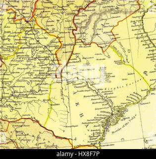 Volga and Don River Basins 1882 Stock Photo: 140701908 - Alamy