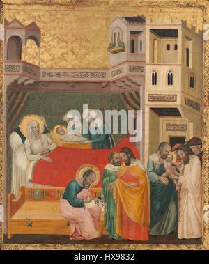 The Birth, Naming, and Circumcision of Saint John the Baptist A16931 - Stock Photo