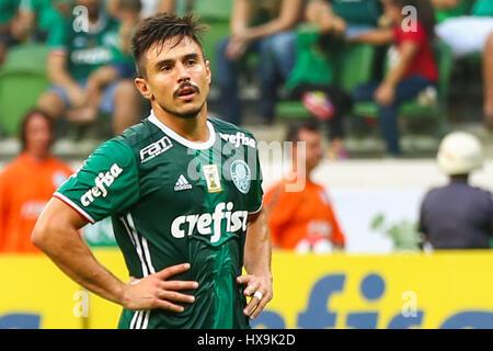 Sao Paulo, Brazil. 25th Mar, 2017. PALMEIRAS X OSASCO AUDAX - Willian during the match between Palmeiras x Audax - Stock Photo