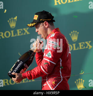 Melbourne, Australia. 26th Mar, 2017.  Formula 1 Rolex Australian Grand Prix, 23. - 26.03.2017 Credit: Cronos/Alamy - Stock Photo