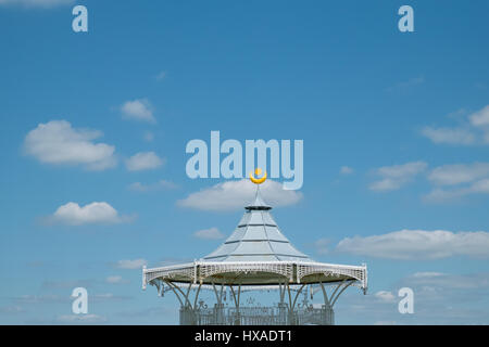 The Bandstand, West Battery Gardens, Southsea - Stock Photo