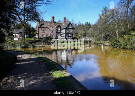 The Packet House, Worsley Village, Salford, UK - Stock Photo
