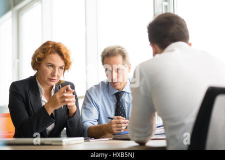 Business people negotiating - Stock Photo