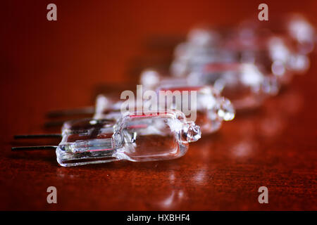 macro led group - Stock Photo