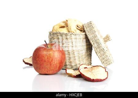 Apple rings, Apfelringe - Stock Photo