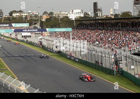 Melbourne, Australia. 26th Mar, 2017. Motorsports: FIA Formula One World Championship 2017, Grand Prix of Australia, - Stock Photo