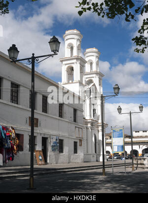 Ecuador, Latacunga, Iglesia Santo Domingo church - Stock Photo