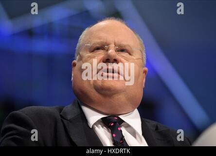 ERIC PICKLES MP SECRETARY OF STATE FOR COMMUNI 03 October 2011 MANCHESTER CENTRAL MANCHESTER ENGLAND - Stock Photo