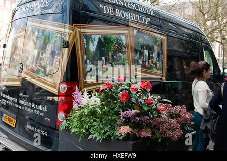 Saturday flea Market at Place du Jeu de Balle, Brussels, Belgium - Stock Photo