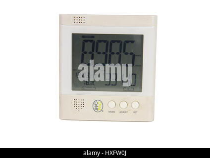 OWL electricity energy monitor display. Third-party smart electricity meter type product showing domestic energy - Stock Photo