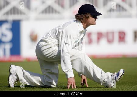 JAMES MARSHALL NEW ZEALAND TRENT BRIDGE NOTTINGHAM ENGLAND 05 June 2008 - Stock Photo