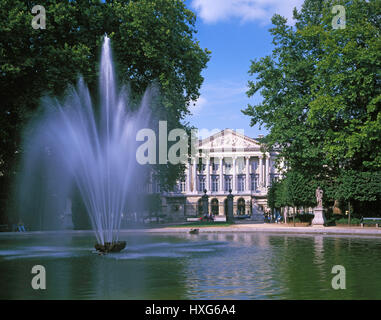Palace of the Nation, the Royal Palace, Brussels, Belgium - Stock Photo