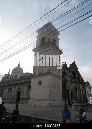 Guadalupe Church Granada Nicaragua - Stock Photo