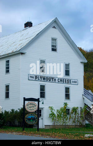 Plymouth Cheese Factory, President Calvin Coolidge Birthplace State Historic Site, Vermont - Stock Photo