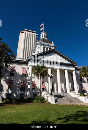 New Florida State Capitol building, Tallahassee and Historic Capitol Museum, USA - Stock Photo