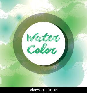 colors watercolor art paint - Stock Photo