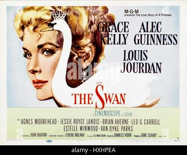 GRACE KELLY POSTER THE SWAN (1956) - Stock Photo