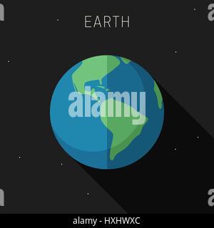 Earth planet - Stock Photo