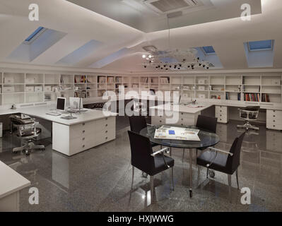 Moscow Interior Office Working Design Decor Modern Workplace Stock Photo Royalty Free